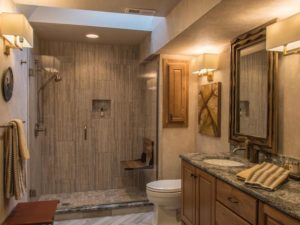 red door interiors bathroom remodel